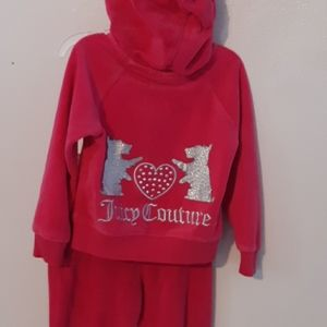 Baby Juicy couture sweat suit
